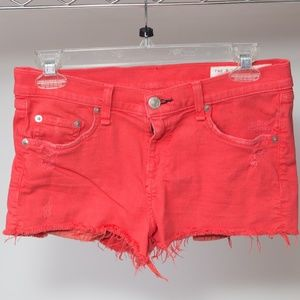 Rag & Bone denim shorts Size 26